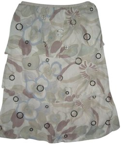 Sheri Bodell New Silk Skirt Pink