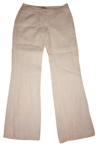 Ann Taylor LOFT Straight Pants White