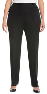 Lane Bryant Office Trouser Uniform Relaxed Pants Black