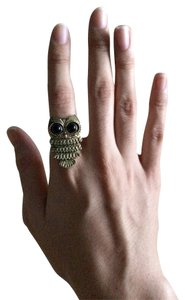 Owl Ring Bronze Vintage Retro Style New