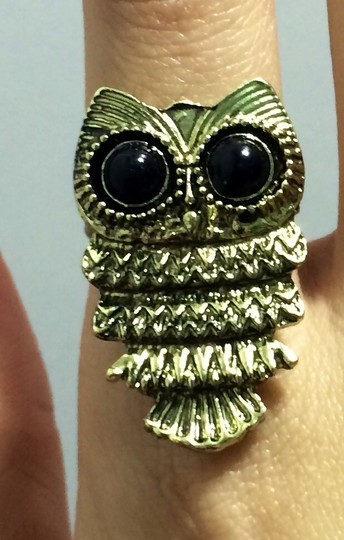 Other Owl Ring Bronze Vintage Retro Style New