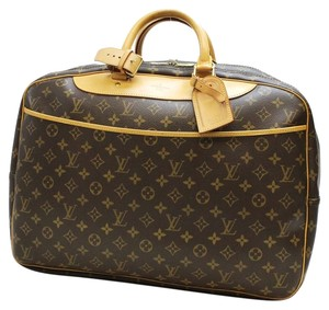 Louis Vuitton Lv Classic Travel Monogram Brown Travel Bag
