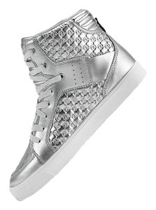 Zumba Fitness Dance High Tops Silver Athletic