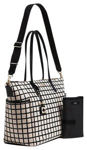 Kate Spade Black Beige Diaper Bag