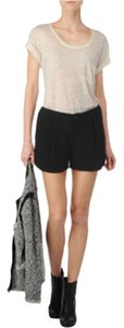 Rag & Bone Mini/Short Shorts Black