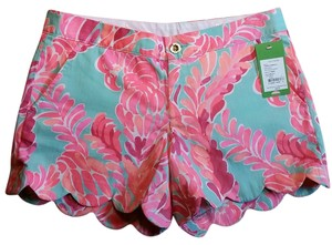 Lilly Pulitzer Dress Shorts Poolside Blue