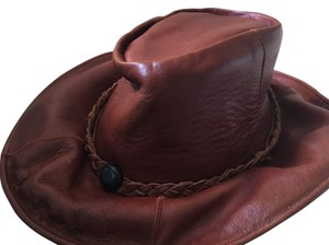 Vintage Leather Leather bohemian hat
