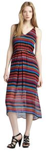 Multi, Rainbow Maxi Dress by Joie Maxi Coachella Festival
