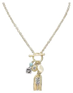New Boho Gold Charm Necklace W/Arrow/Pearl/Crystal/Turquoise Ball