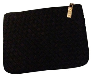 Cosmetic Make Up Black Clutch