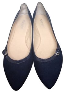 Nine West Navy Blue Flats