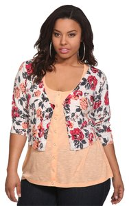 Torrid 2x 18/20 Cropped Plus Cardigan
