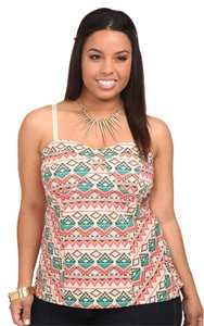 Torrid 2x 18/20 Bustier Plus Top Tribal