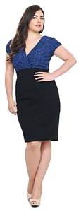 Torrid Size 2 18/20 Ponte New W/ Tags Dress