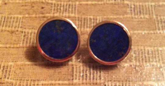 Other Lapis and gold earrings
