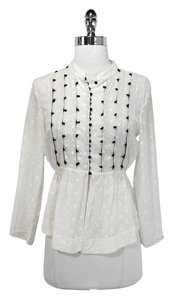 See by Chloé Cotton Silk Top