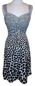 Ann Taylor Black Dot Size 8 Dress