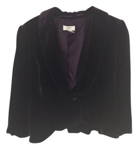 Ann Taylor LOFT Plum purple Jacket