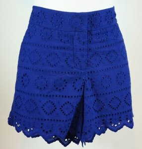 Vineyard Vines Eyelet Classic Shorts Blue