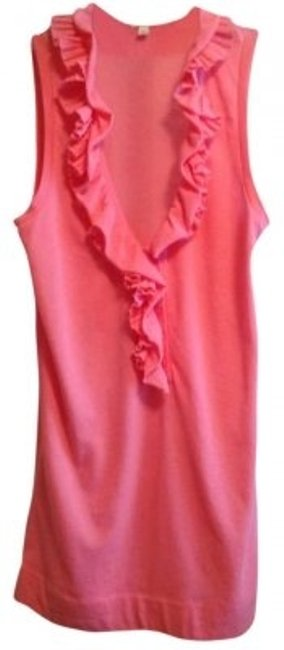 Preload https://img-static.tradesy.com/item/138294/jcrew-coral-ruffled-sleeveless-tank-topcami-size-4-s-0-0-650-650.jpg