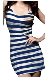 Ivysclothing.com short dress Blue/White on Tradesy