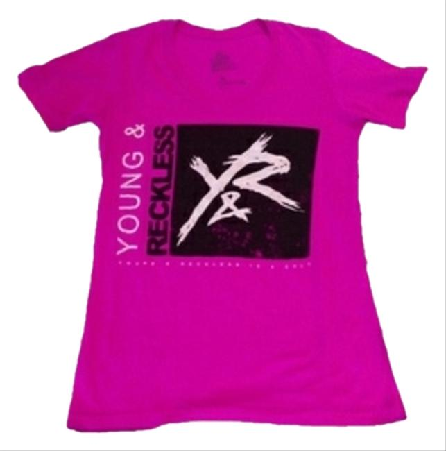 Young & Reckless T Shirt Pink