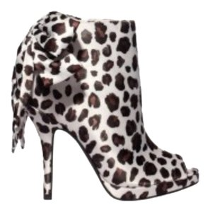 Kate Young for Target Leopard Boots