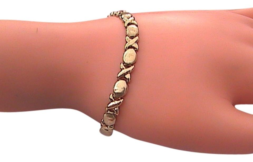 Other 10k Yellow Gold Xoxo Hug Kisses Bracelet