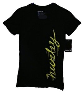 New Hurley T Shirt Black