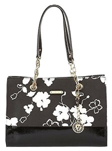 Anne Klein Floral Coach Shoulder Bag