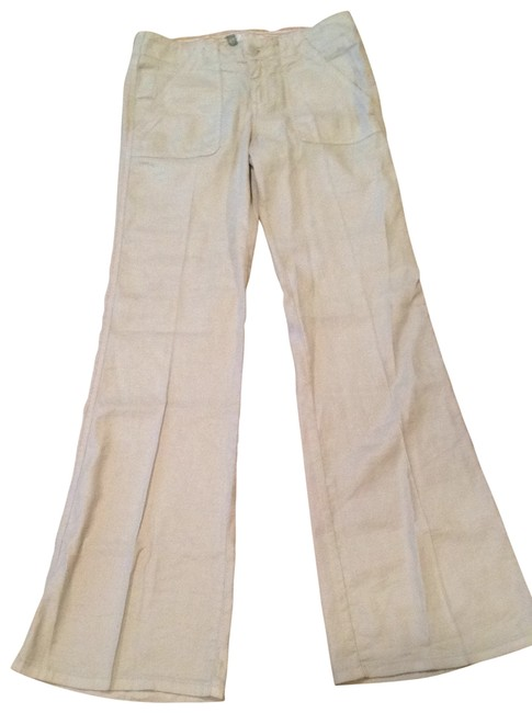 Preload https://img-static.tradesy.com/item/138356/anthropologie-khaki-linen-trousers-new-with-tags-size-4-s-27-0-0-650-650.jpg