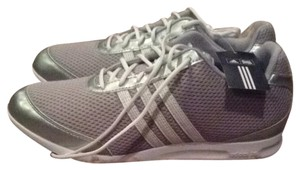 adidas Silver Gray & White Athletic