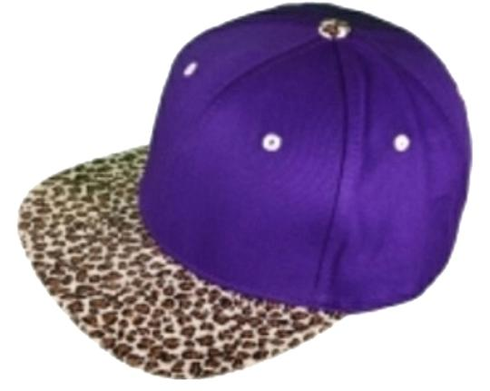 Ivysclothing.com Purple/Brown Leopard SnapBack