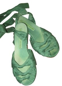 Marc by Marc Jacobs kelly green Sandals