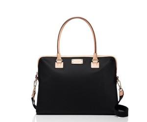 Kate Spade USE CODE GET$25 OFF THIS ITEM KATE SPADE WKRU3261 BLACK KENNEDY PARK CALISTA LAPTOP BAG NWT ADJUSTABLE STRAP INSIDE SLOTS
