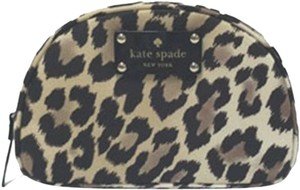 Kate Spade Cosmetic Travel Leopard Travel Bag
