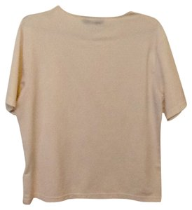 Kasper T Shirt Cream