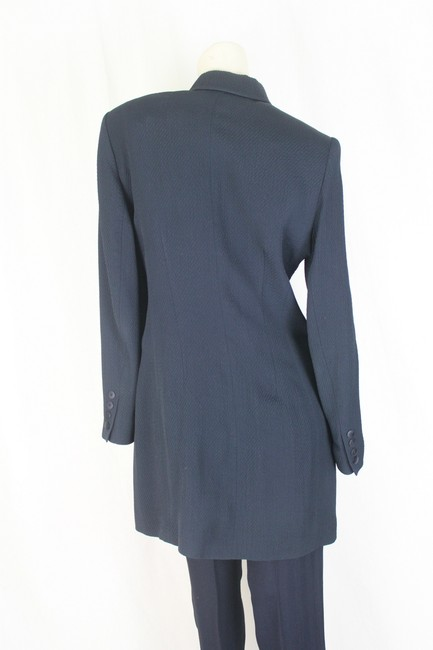 Olivier Strelly Ladies Olivier Strelly Pantsuit Womens Suit Navy Blue Size 38
