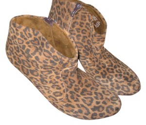 steve by stephen madden leopard Boots
