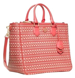 Tory Burch Tote in Poppy Coral