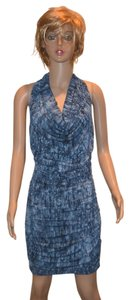 Michael Kors short dress Blue Jersey on Tradesy