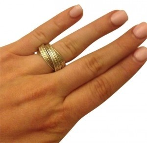 Anna Beck Anna Beck Timor Twisted Band Ring