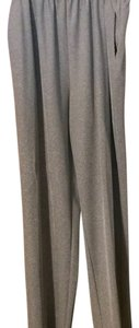 Alfred Dunner Slinky Shimmery Knit Jersey Straight Pants