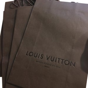 Louis Vuitton paperbags