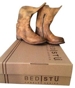 Bed|Stü Light Tan Brown Boots