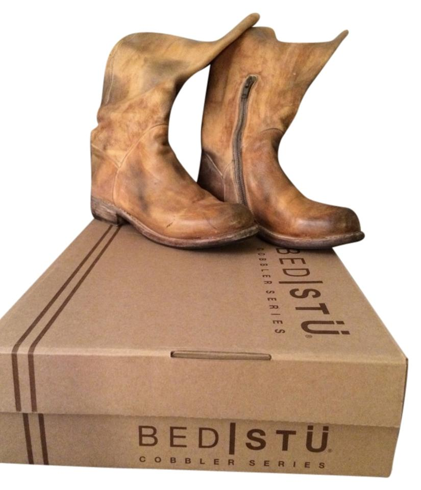 Bed|Stü Tan Light Tan Bed|Stü Brown The Manchester Boots/Booties 095cdd