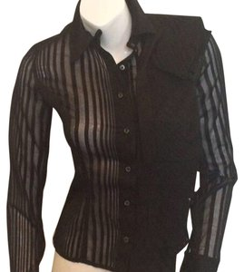Antonio Berardi Button Down Shirt Black