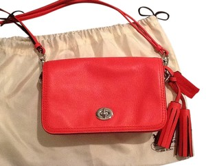Coach Leather Penny Classic Cross Body Bag
