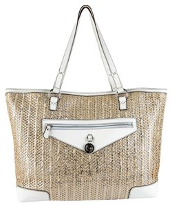 Juicy Couture Tote in Metallic Cream