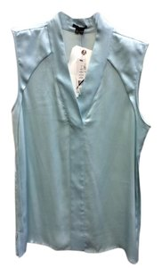 Theory Size Lg Silk Soft Top Teal